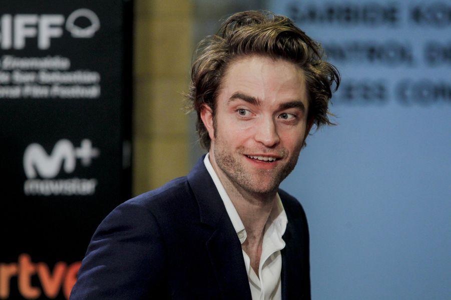 """Robert Pattinson présente """"High Life"""", de Claire Denis, au festival du film de San Sebastian, jeudi 27 septembre"""