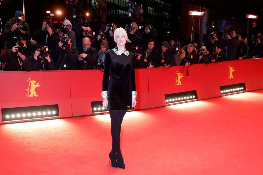 Andrea Riseborough lors du Festival de Cannes 2019.