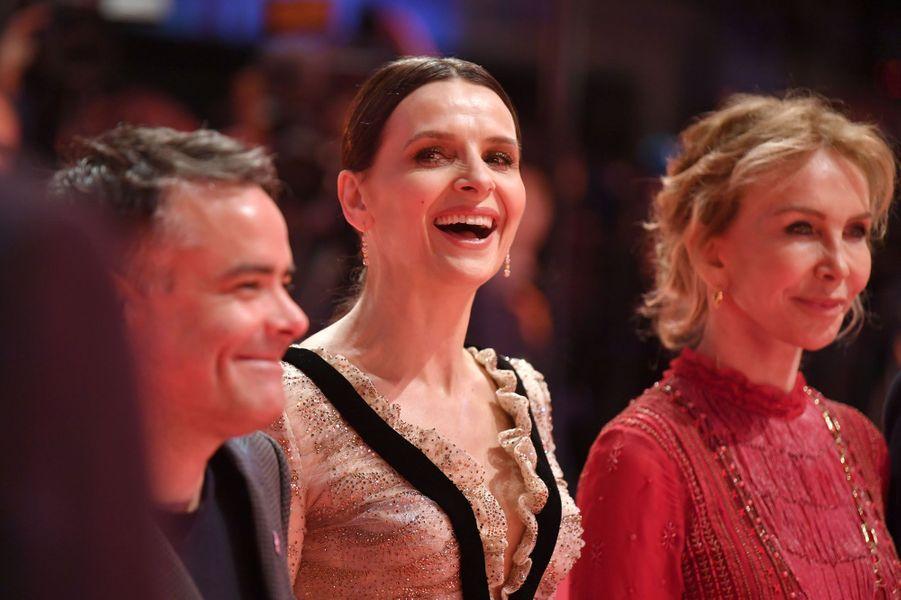 Juliette Binoche lors du Festival de Berlin 2019.