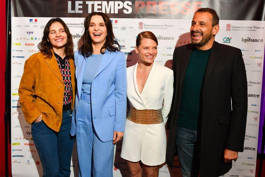 Virginie Ledoyen, Juliette Binoche, Melanie Thierry et Safy Nebbou
