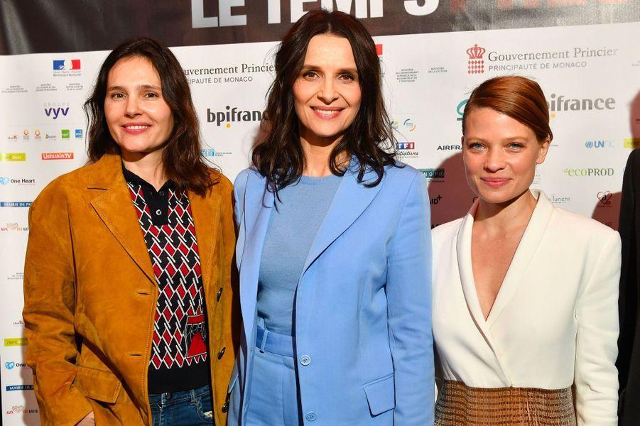 Virginie Ledoyen, Juliette Binoche et Mélanie Thierry