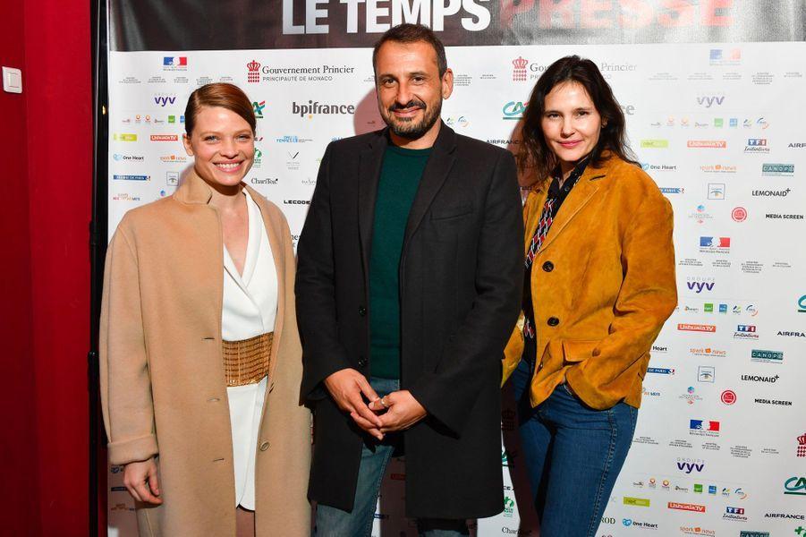 Virginie Ledoyen, Melanie Thierry et Safy Nebbou