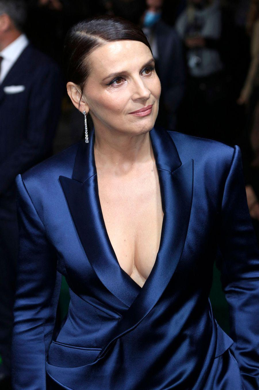 L'actrice française a reçu mercredi une récompense pour l'ensemble de sa carrière à Zurich, en Suisse.