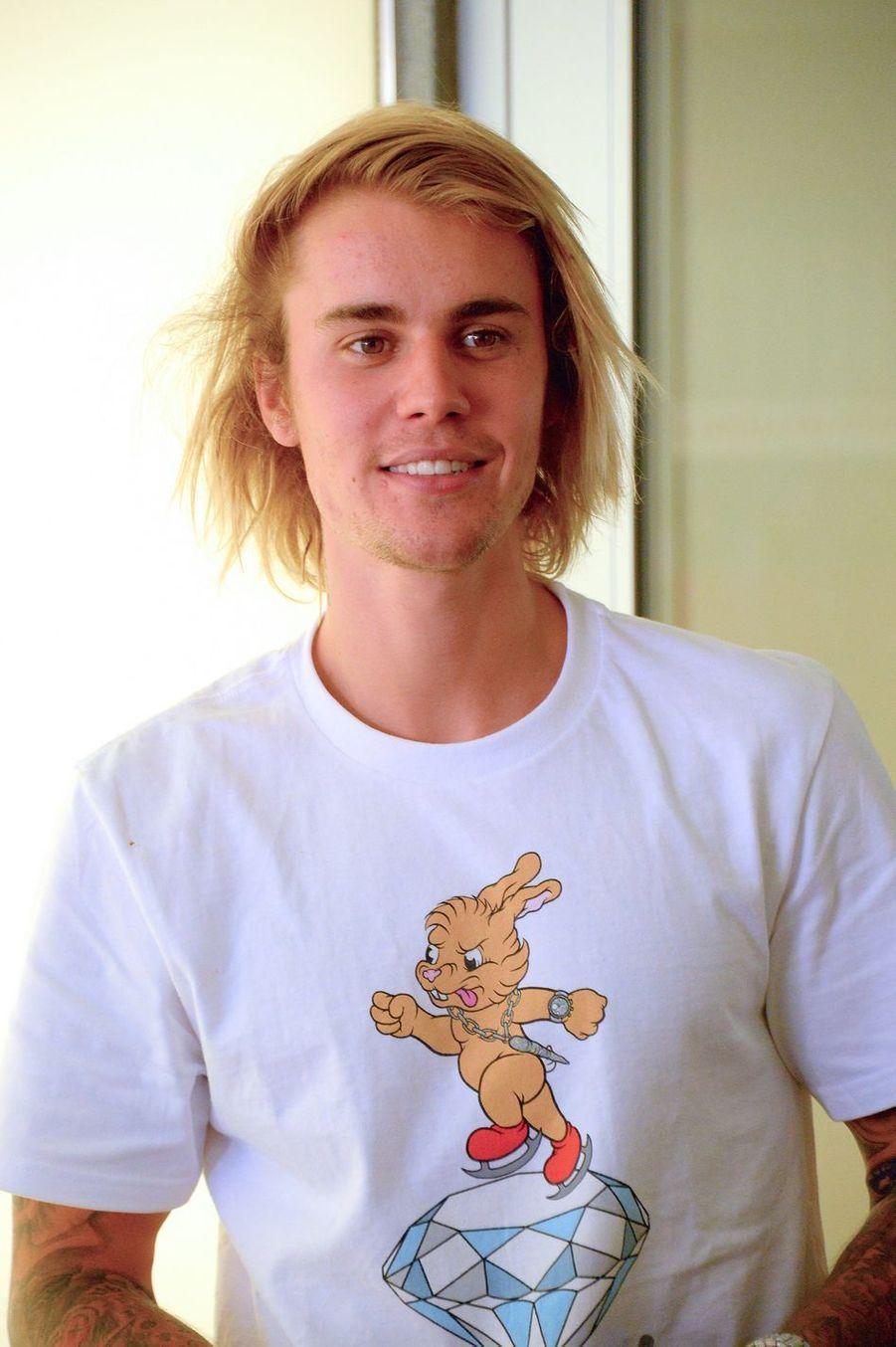 Justin Bieber à New York en juillet 2018