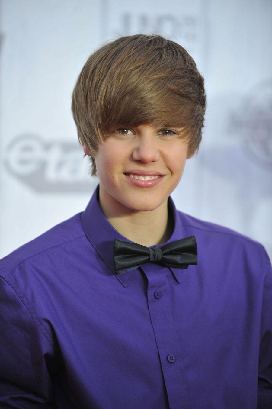 Justin Bieber aux Juno Awards en avril 2010 à Saint-Jean au Canada