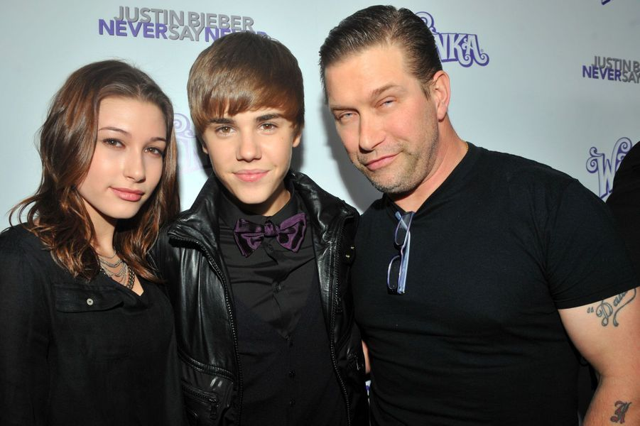 Justin Bieber et Hailey Baldwin en février 2011