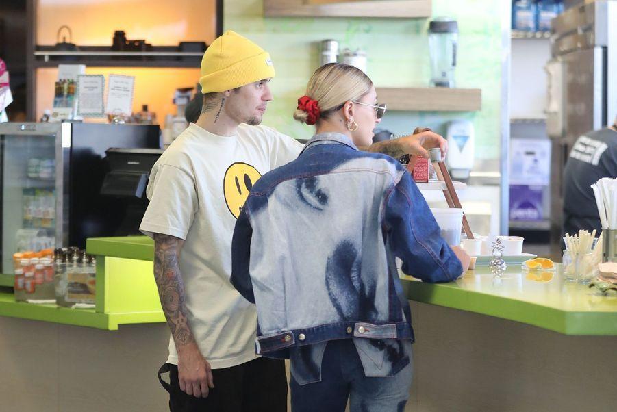 Justin Bieber et Hailey Baldwin à Los Angeles, le 30 mai 2019