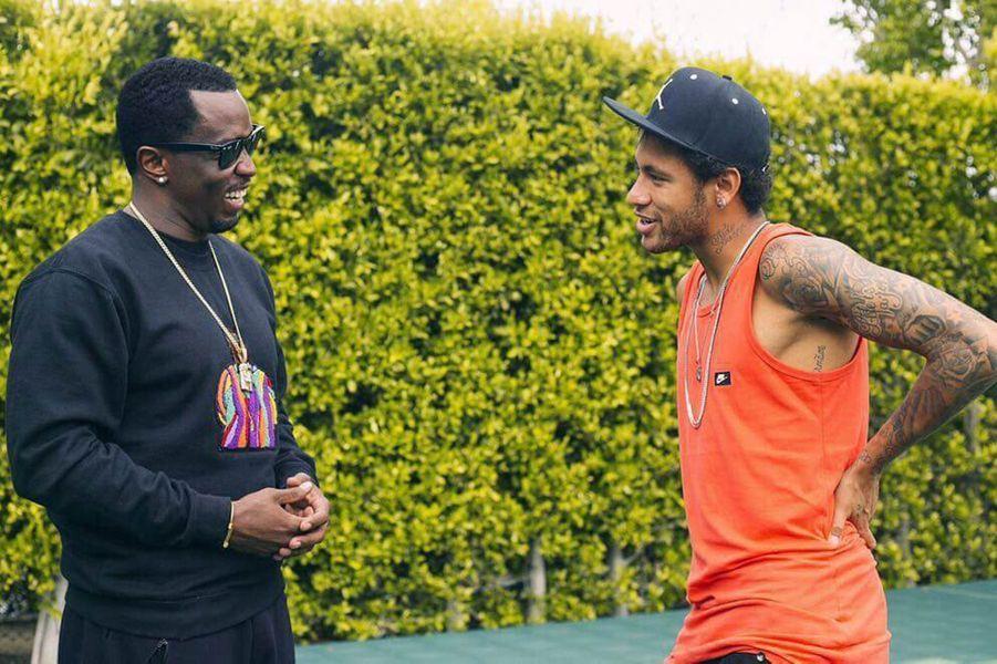 P. Diddy et Neymar.