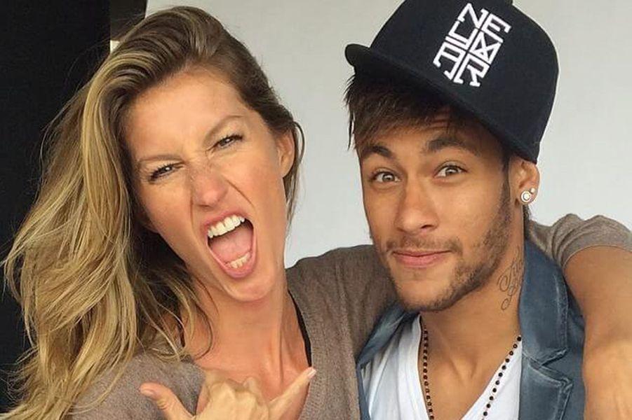 Gisele Bünchen et Neymar.