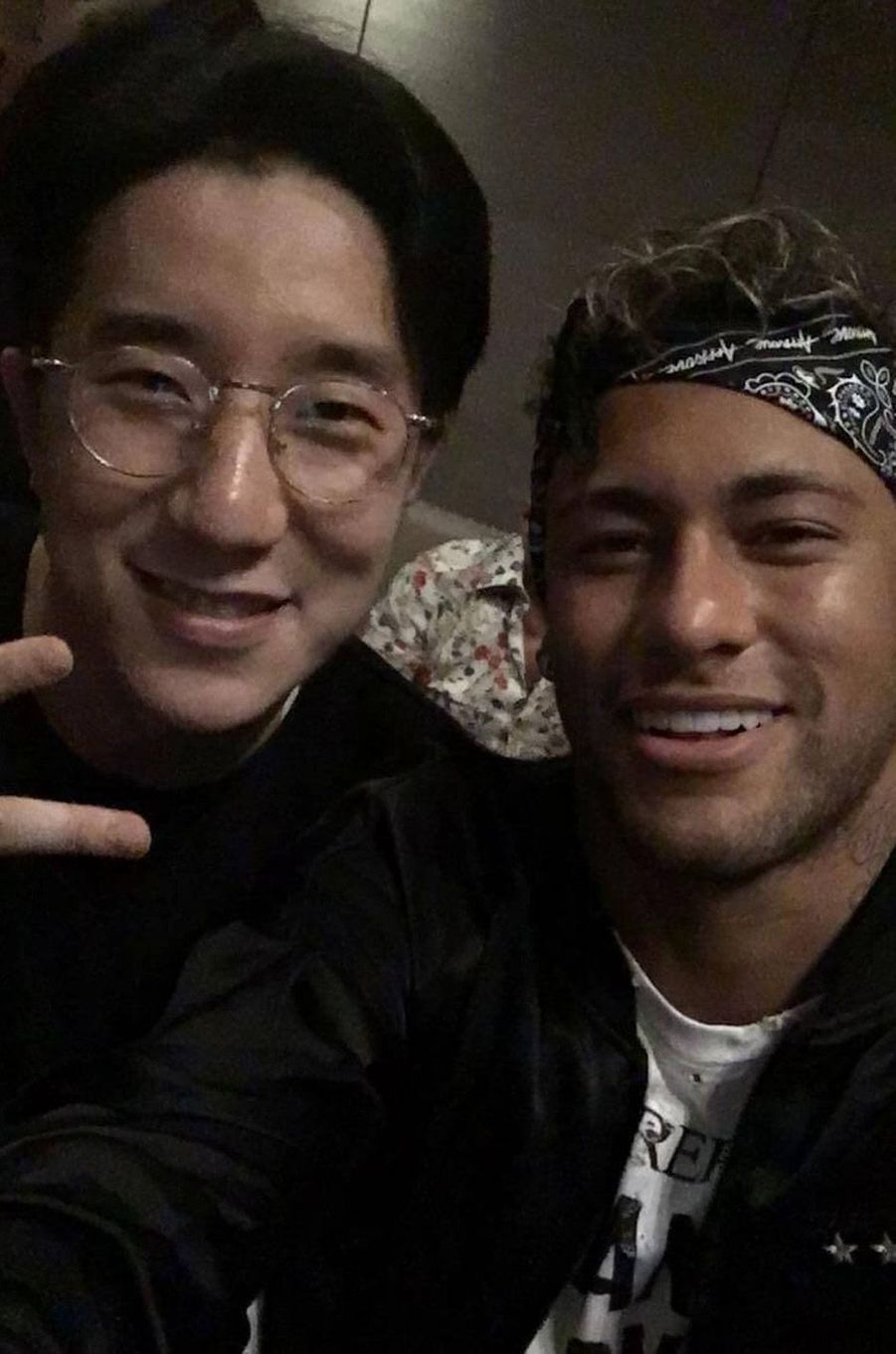 Jaycee Chan et Neymar.