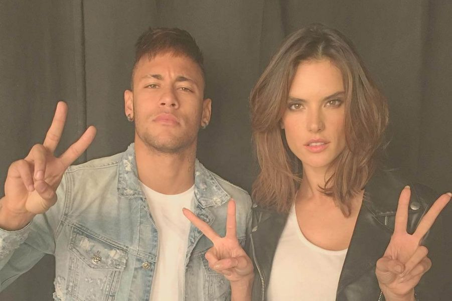 Neymar et Alessandra Ambrosio.