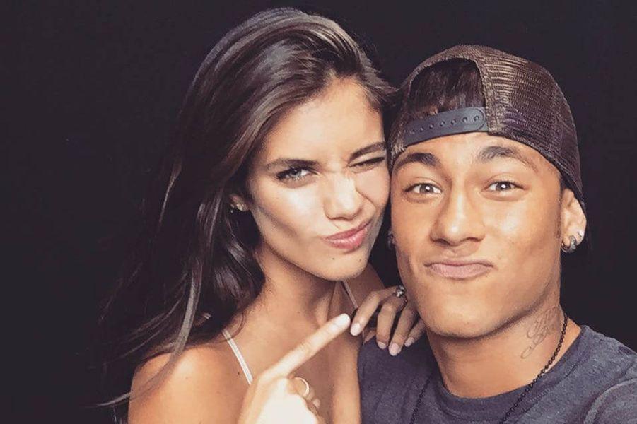 Sara Sampaio et Neymar.