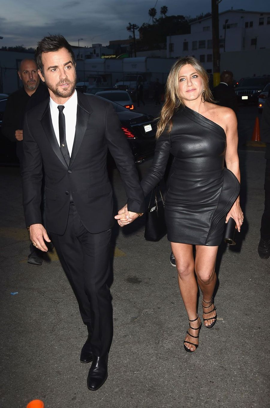 Justin Theroux et Jennifer Aniston, fous d'amour