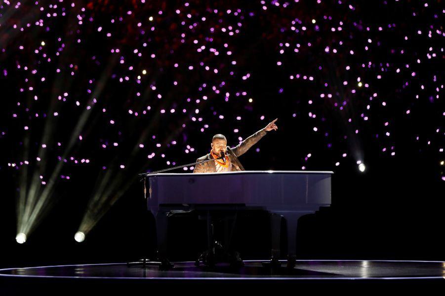 Justin Timberlake a fait le show à la mi-temps du Super Bowl.