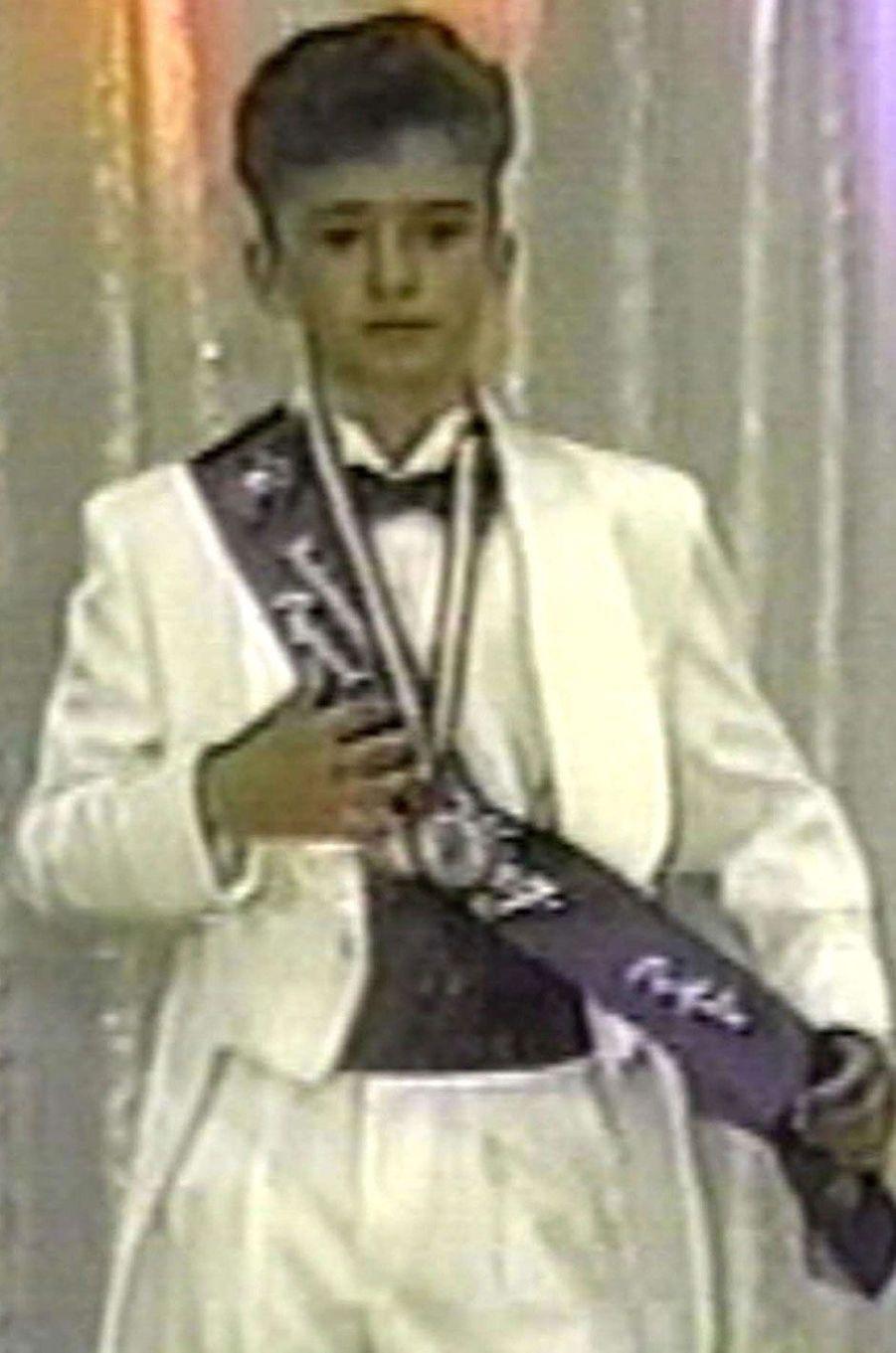 Justin Timberlake enfant.