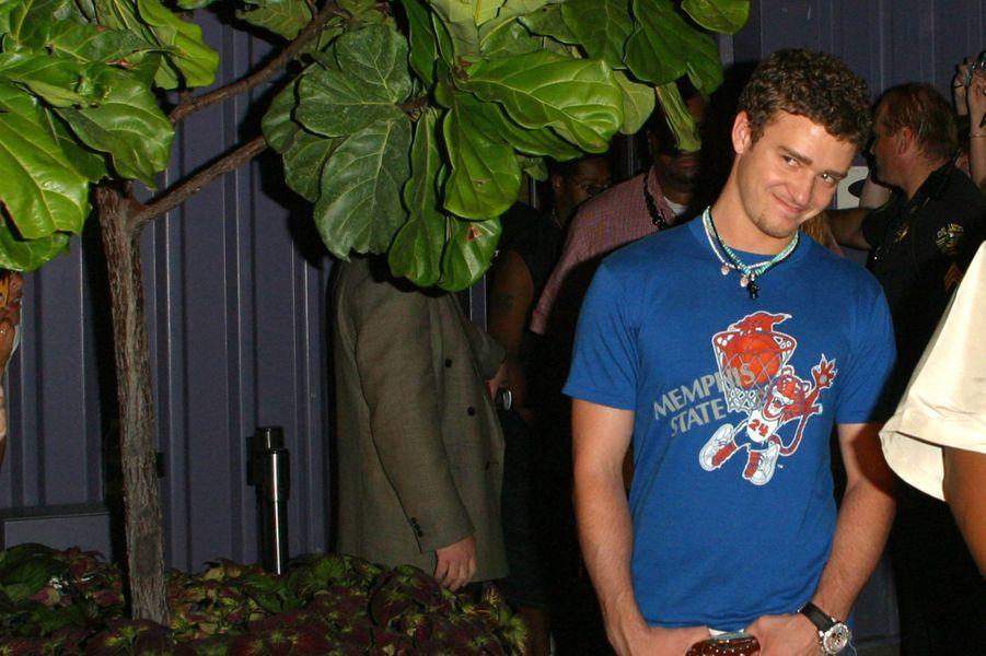 Justin Timberlake en 2001.