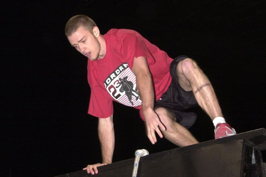 Justin Timberlake jeune.