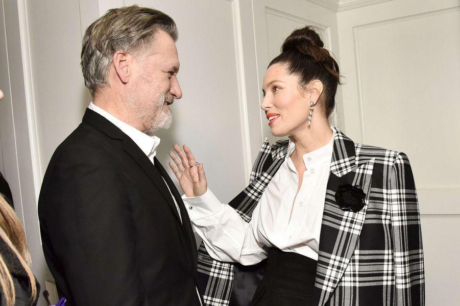 Bill Pullman et Jessica Bielà la première de la saison 3 de la série «The Sinner» à Los Angeles le 3 février 2020