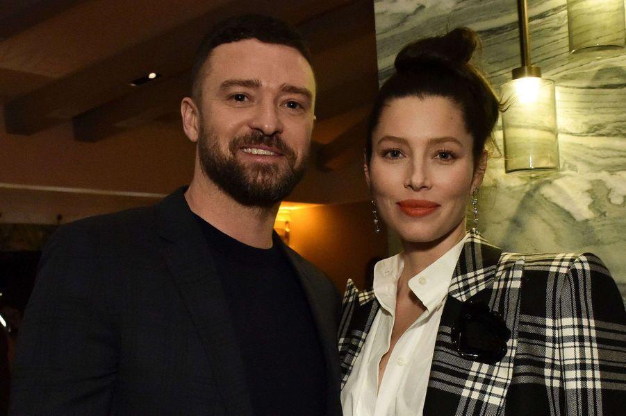 Justin Timberlake et Jessica Bielà la première de la saison 3 de la série «The Sinner» à Los Angeles le 3 février 2020