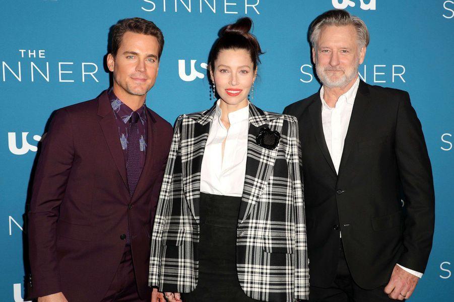 Matt Bomer, Jessica Biel et BillPullman à la première de la saison 3 de la série «The Sinner» à Los Angeles le 3 février 2020