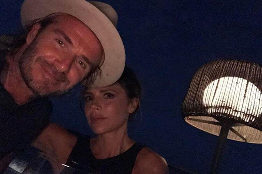 Victoria et David Beckham pour la Saint-Valentin