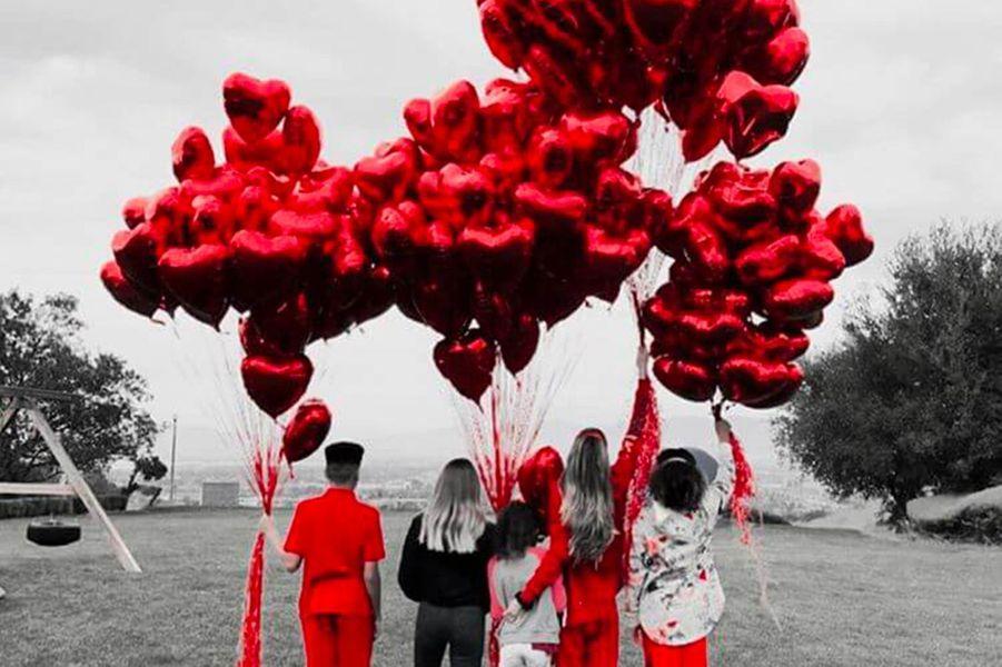 Heidi Klum pour la Saint-Valentin