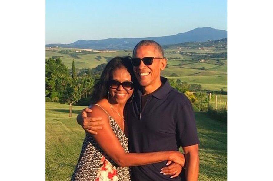 Barack et Michelle Obama pour la Saint-Valentin