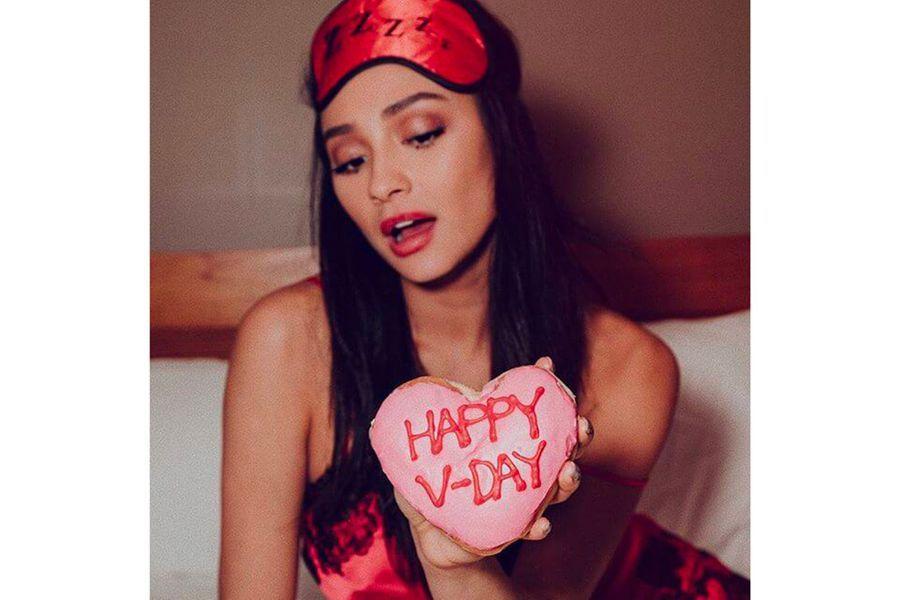 Shay Mitchell pour la Saint-Valentin