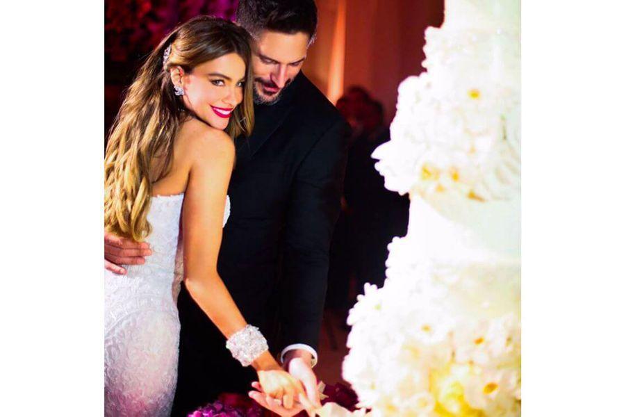 Sofia Vergara et Joe Manganiellopour la Saint-Valentin