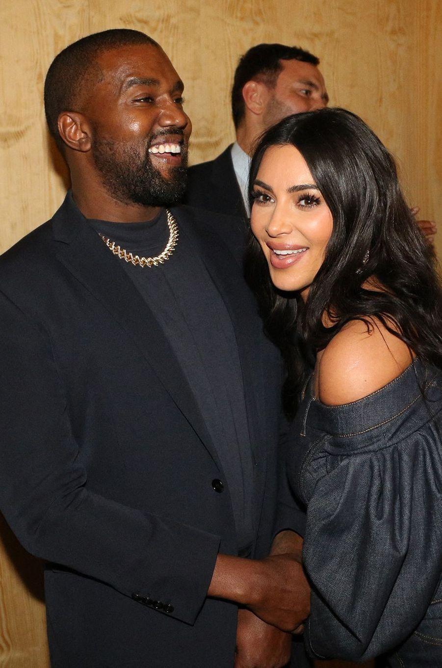Kim Kardashian et Kanye West à New York en novembre 2019