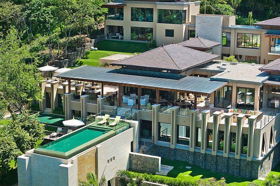 La famille Kardashian était en vacances au Costa Rica dans cette maison, la Villa Manzu