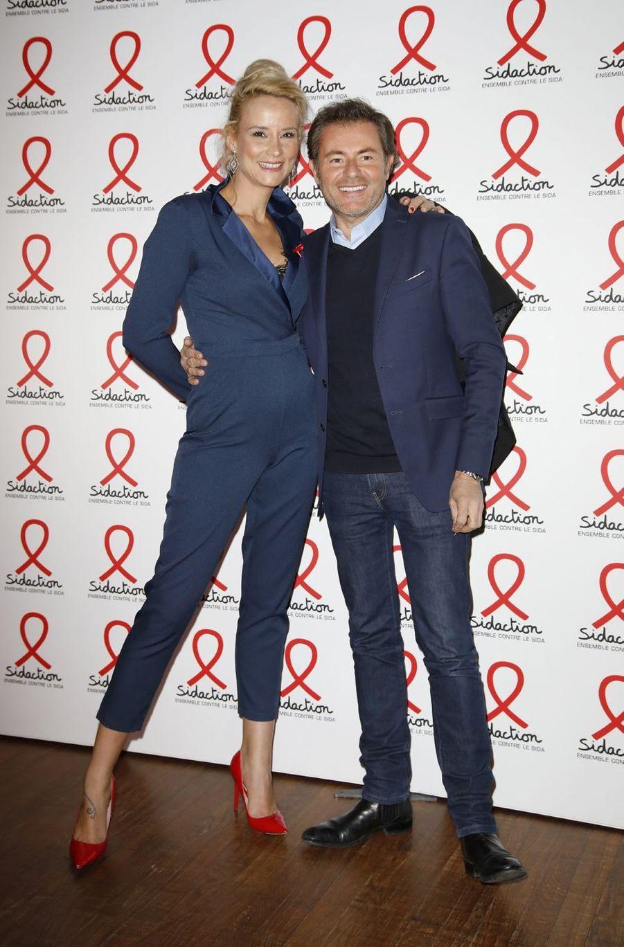 Elodie Gossuin et Jérôme Anthony,le 18 mars 2019