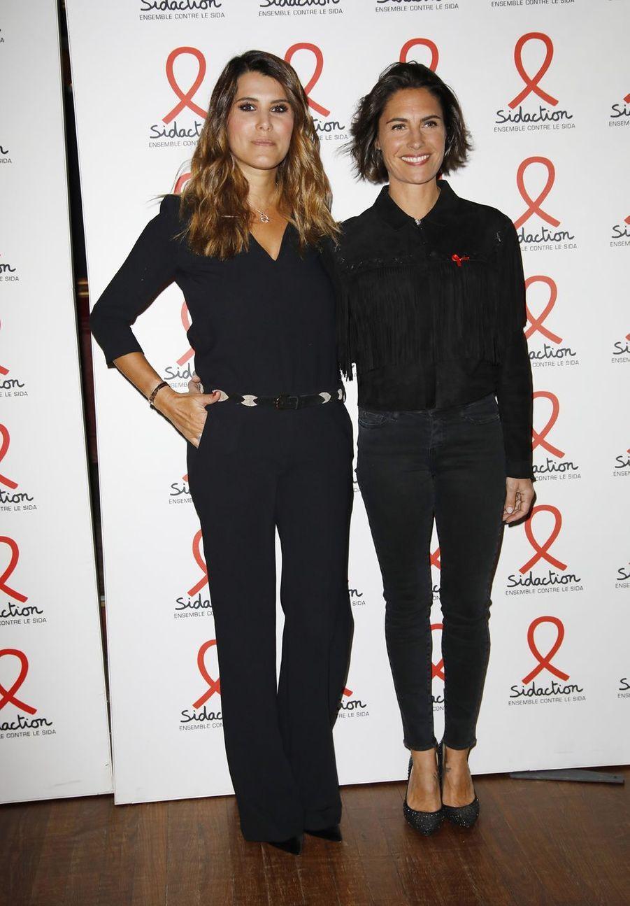 Karine Ferri et Alessandra Sublet, le 18 mars 2019