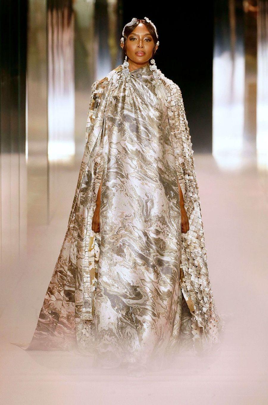Naomi Campbellau défilé Fendi à Paris le 27 janvier 2021