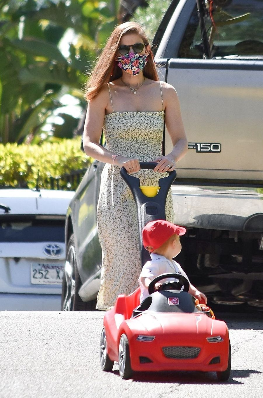 Kate Maraavec sa fille à Los Angeles le 21 mai 2020