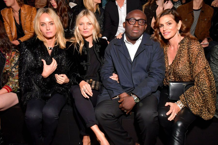 Amber Valletta, Kate Moss, Edward Enninful, Cindy Crawford