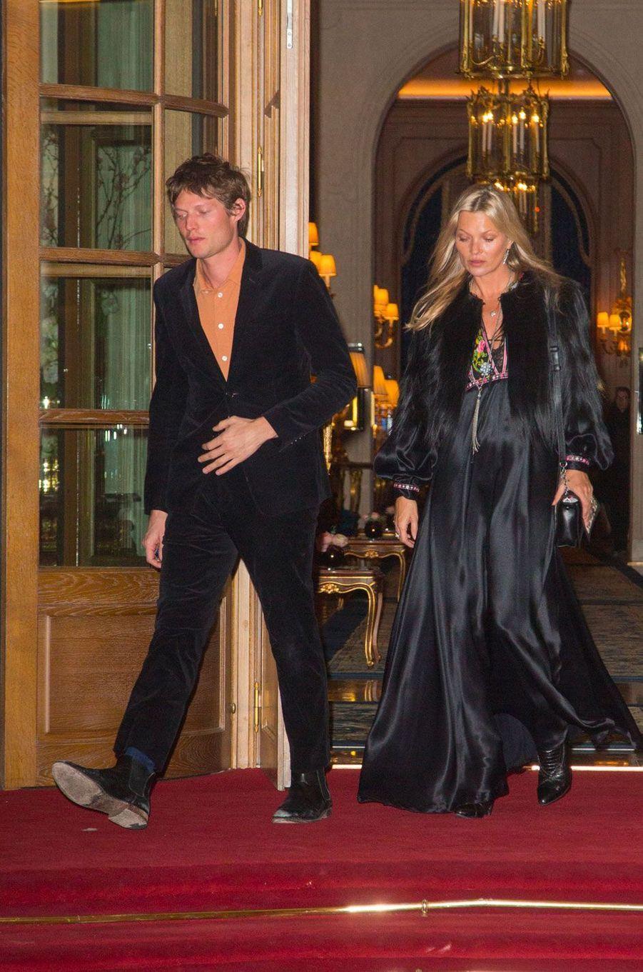 Kate Moss et Nikolaï von Bismarck