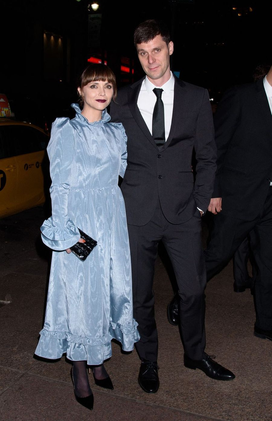 Christina Ricci et son mari James Heerdegen au mariage de Marc Jacobs et Char Defrancesco à New York le 6 avril 2019