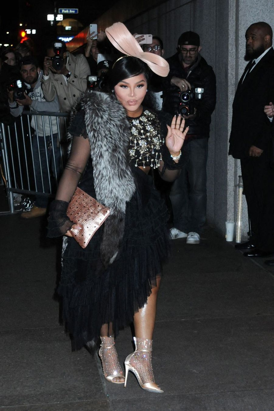 Lil Kim au mariage de Marc Jacobs et Char Defrancesco à New York le 6 avril 2019