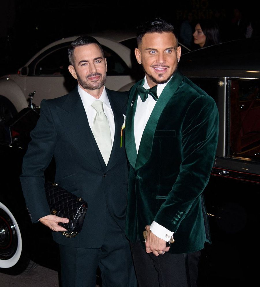 Marc Jacobs et Char Defrancesco à New York le 6 avril 2019