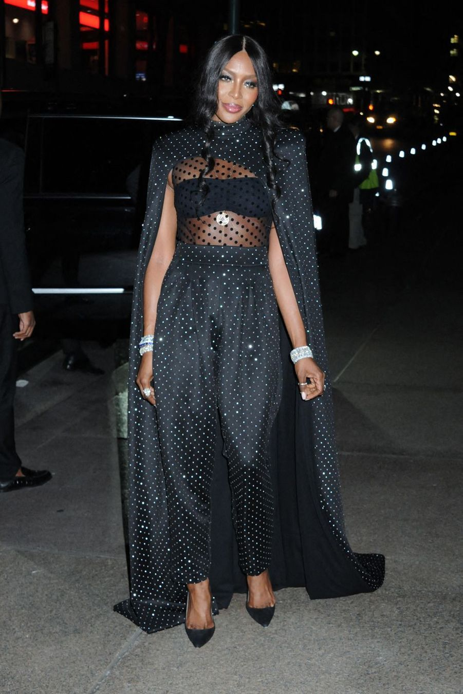 Naomi Campbell au mariage de Marc Jacobs et Char Defrancesco à New York le 6 avril 2019