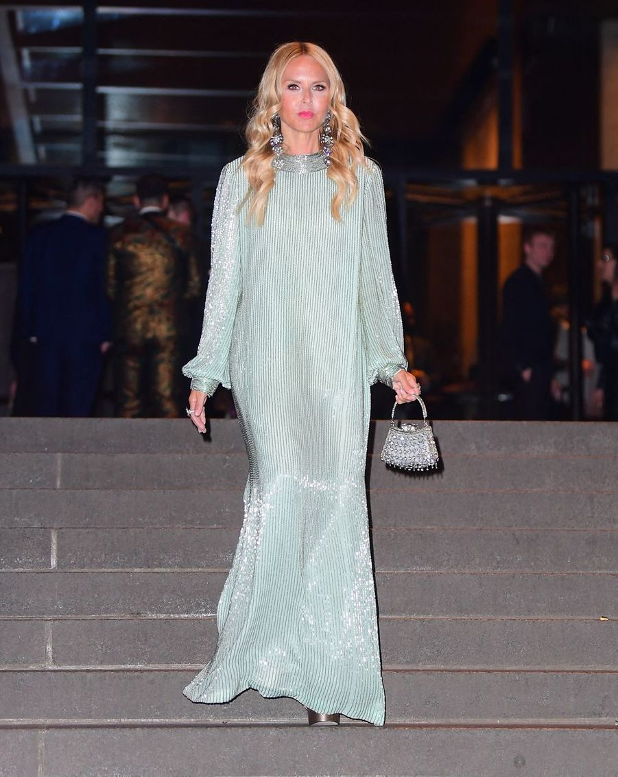 Rachel Zoe au mariage de Marc Jacobs et Char Defrancesco à New York le 6 avril 2019
