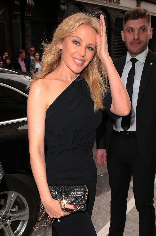 Kylie Minogue à Londres le 12 juin 2018