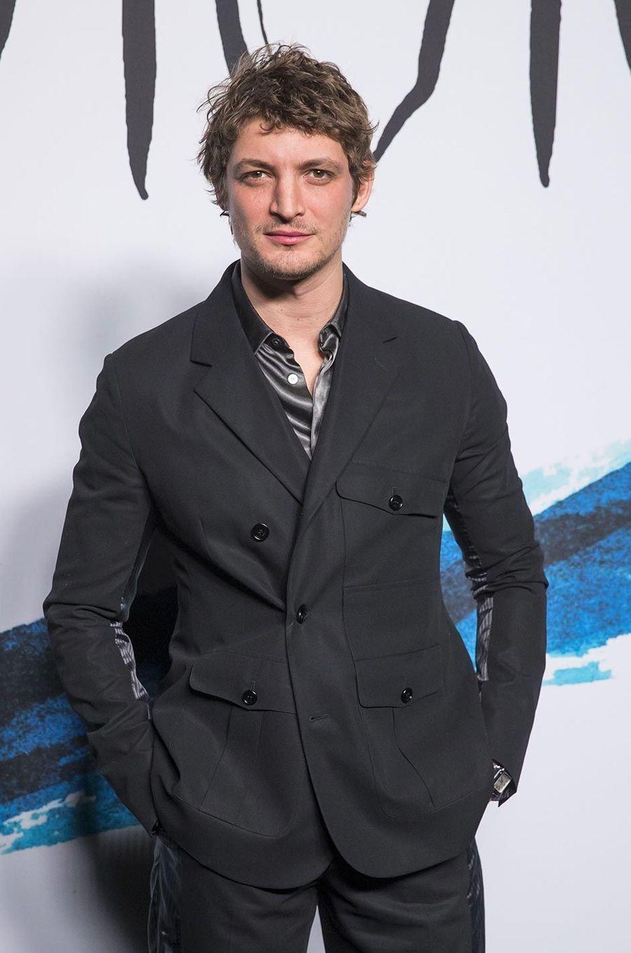 Niels Schneiderau défilé Dior Homme à Paris, le 18 janvier 2019.