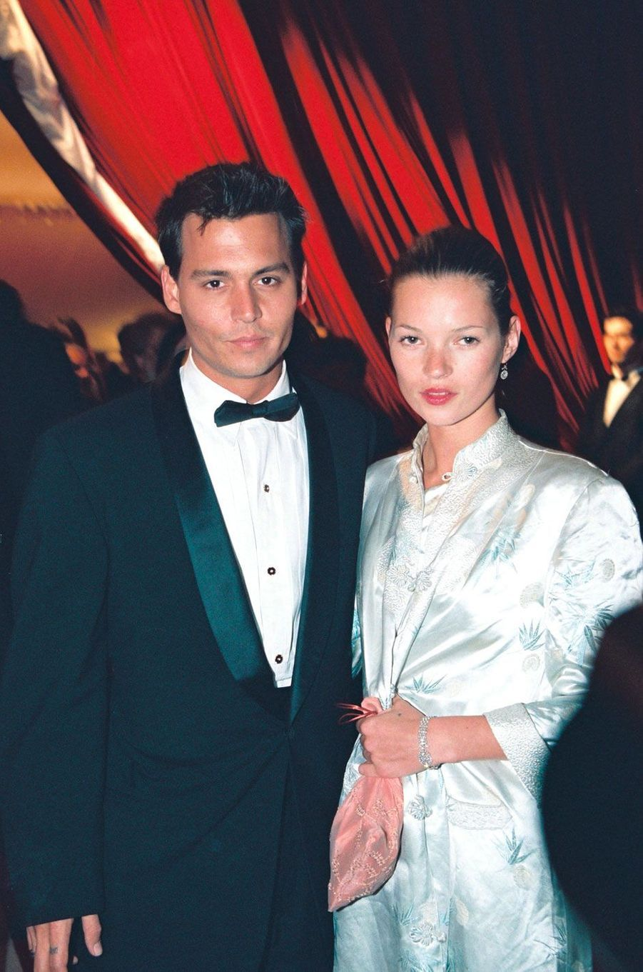 Kate Moss et Johnny Depp en 1997