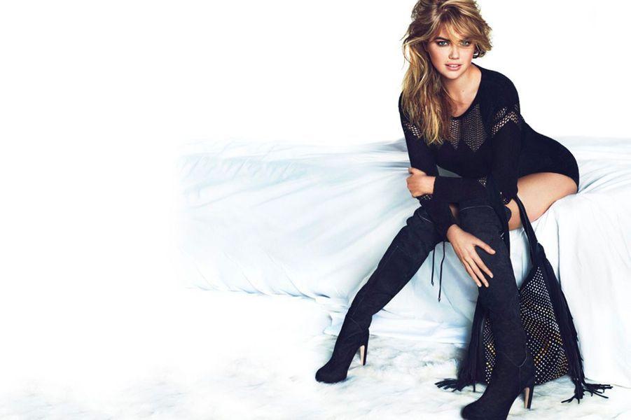 Kate Upton pose pour Sam Edelman