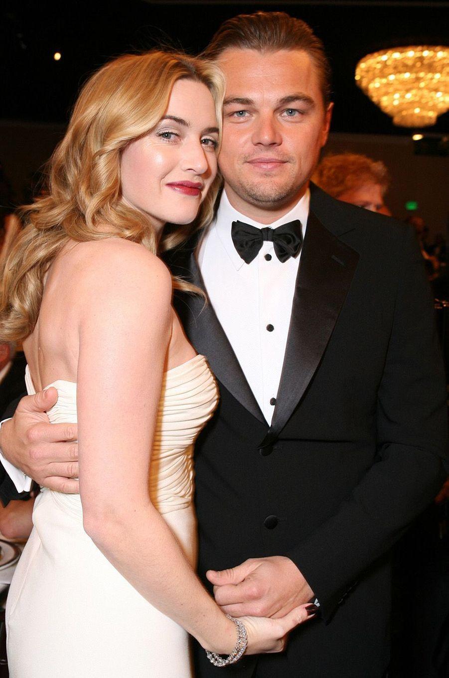 Kate Winslet et Leonardo DiCaprio en 2006.