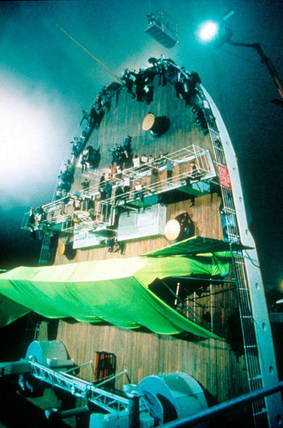 Les coulisses du tournage de «Titanic»