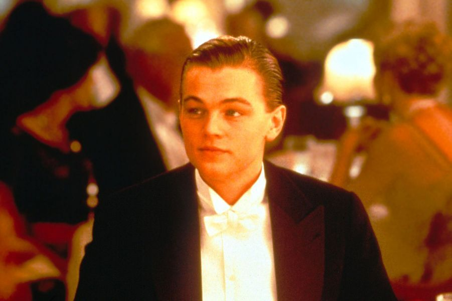 Leonardo DiCaprio sur le tournage de «Titanic»