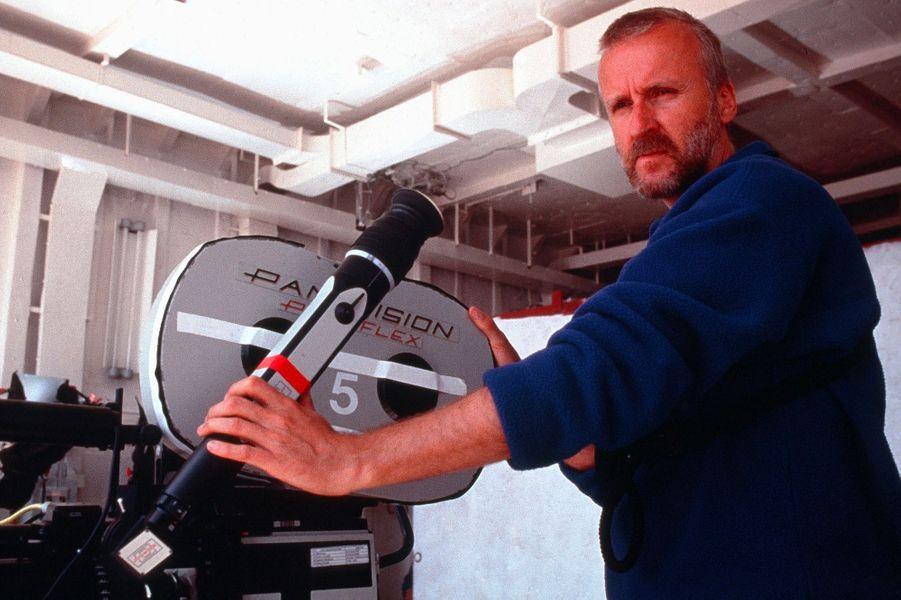 James Cameron sur le tournage de «Titanic»